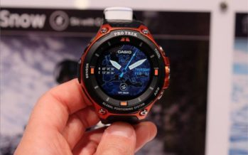 Casio WSD-F20 : une montre connectée pour les aventuriers