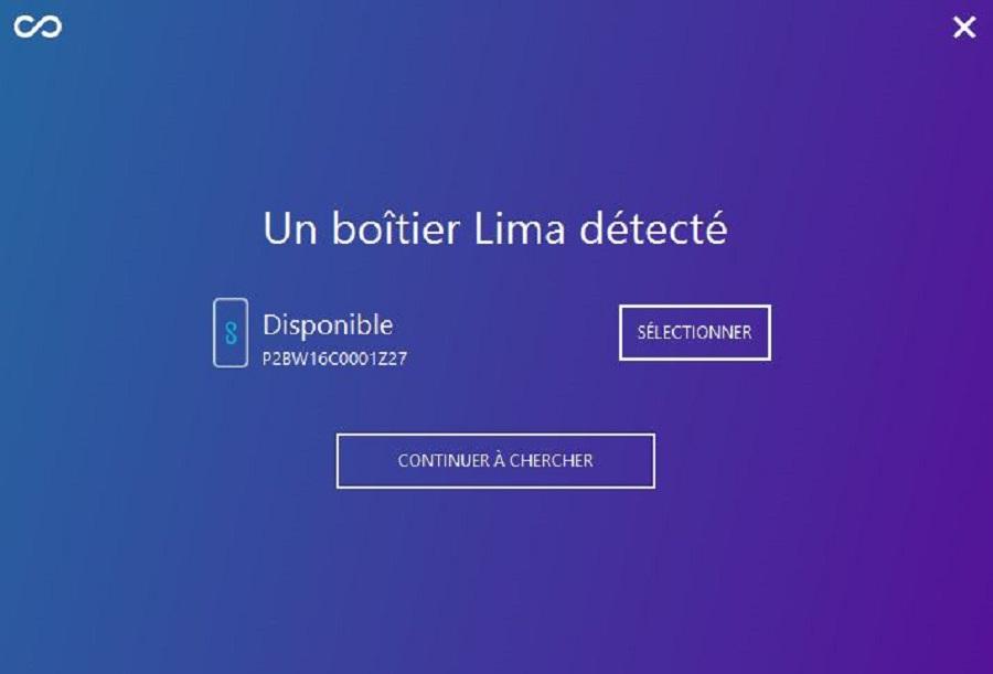 test utilisation cloud detection boitier lima
