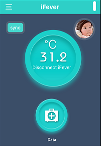 Utilisation Fii Smart Thermometer IFever Application test