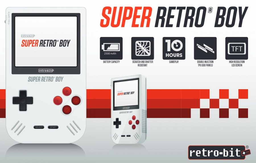 super retro boy console nostalgie ces 2017