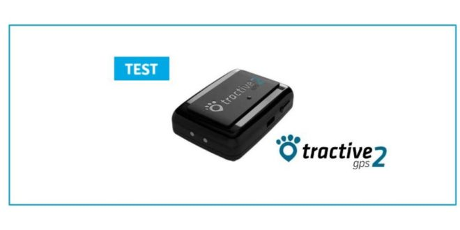test tractive tracker chien animaux connecte