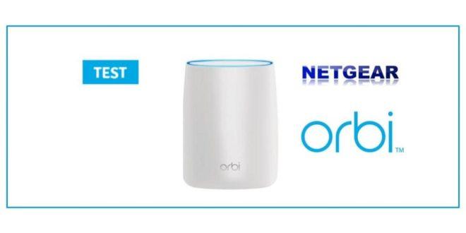 TEST Netgear Orbi Routeur Sans Fil