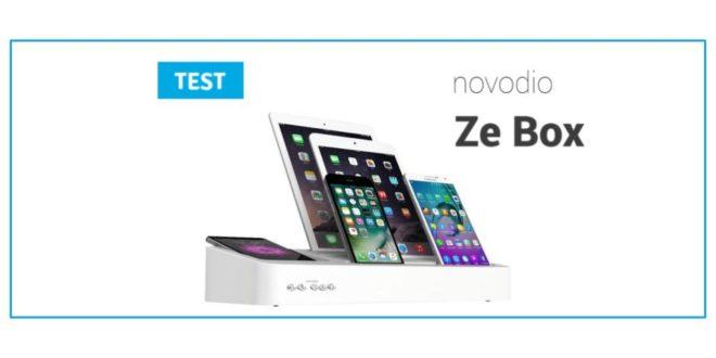 test novodio ze box une