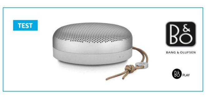 Test Bang & Olufsen Beoplay A1 Enceinte Bluetooth