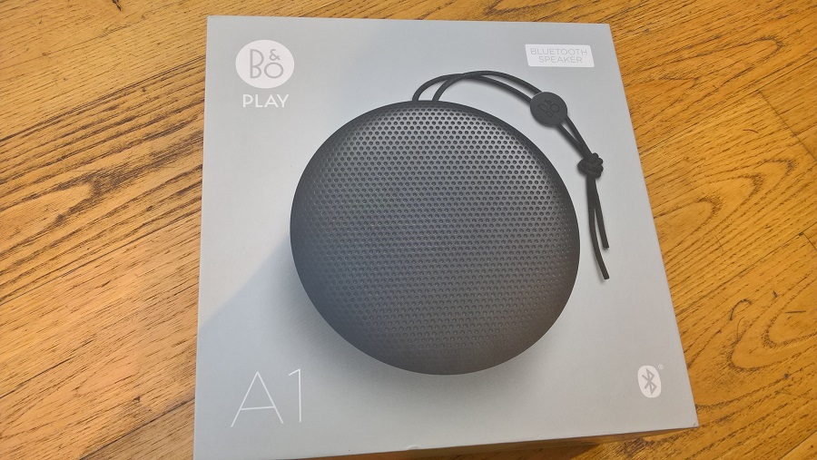 Test Unboxing Bang Olufsen Beoplay A1 enceinte bluetooth
