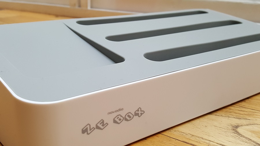 TEST Ze Box station charge USB Novodio