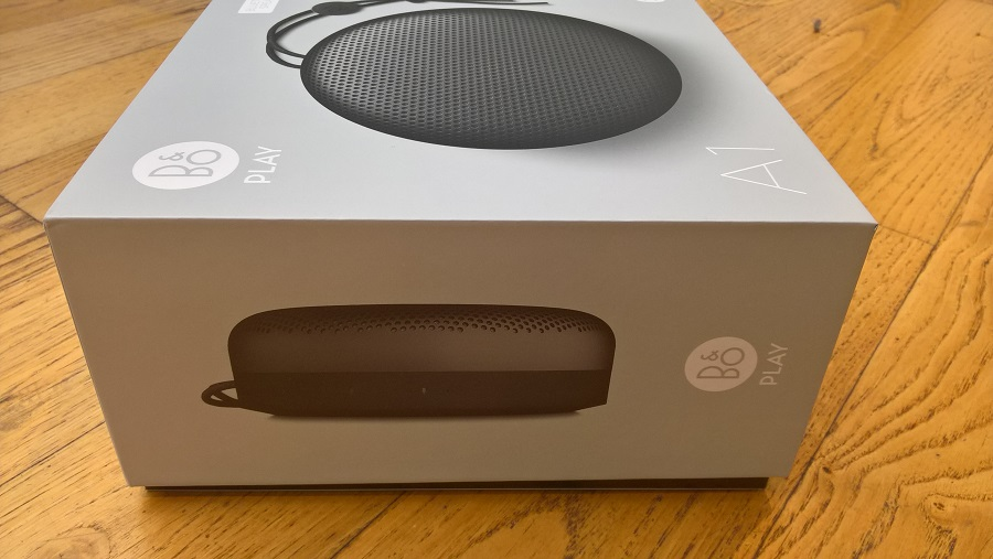 TEST Unboxing enceinte bluetooth Bang Olufsen Beoplay A1