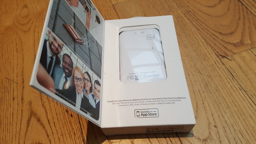 Test Unboxing Oui Duo Plus packaging
