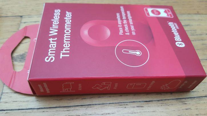 Test Unboxing Thermopeanut boîte rouge contenu produit accessoire