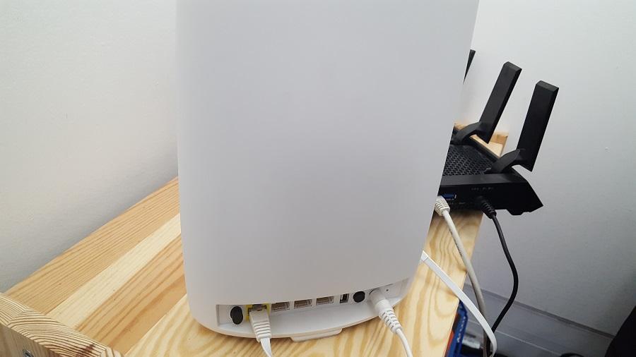Test utilisation Netgear Orbi Routeur Sans Fil Internet Boost Connexion