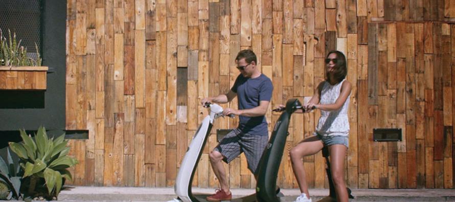 CES 2017 : OjO Commuter, le scooter intelligent zéro pollution
