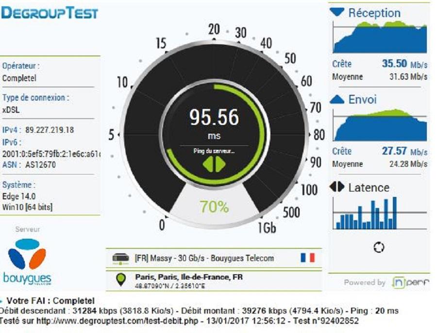 Test application Orbi netgear test performance