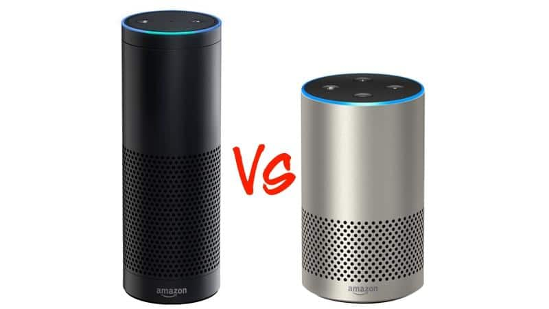 amazon echo 2 vs echo