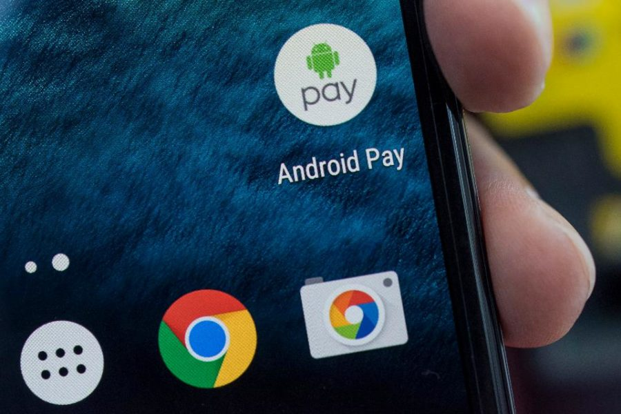 Android Pay paiement sans contact NFC