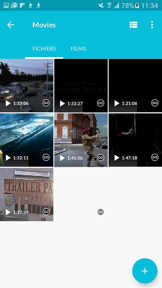 test utilisation interface fichiers vidéos Lima Ultra cloud personnel