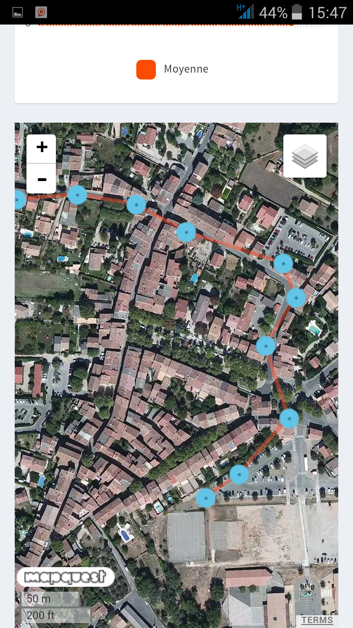 test weenect pets application GPS tracker activité