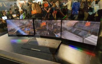 CES 2017 : jouez sur trois écrans avec le Projet Valérie