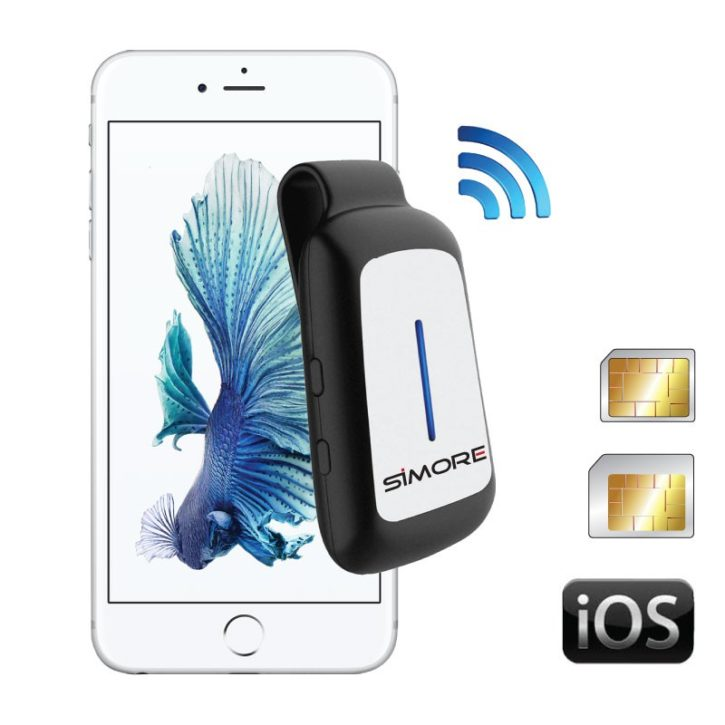 Test Concurrence Oui Duo Plus blueclip dual sim bluetooth active adapter iphone ipod ipad