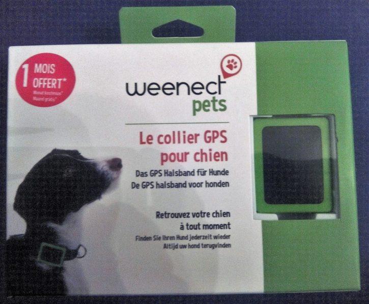 test weenect pets unboxing devant