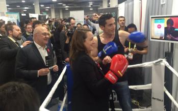 CES 2017: Les gants de boxe connectés attirent les politiques!
