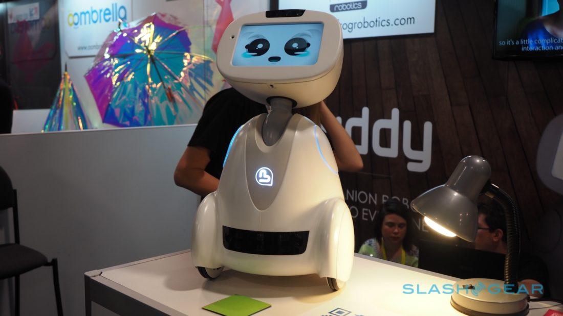 buddy un robot grand public au prix d 39 un smartphone. Black Bedroom Furniture Sets. Home Design Ideas