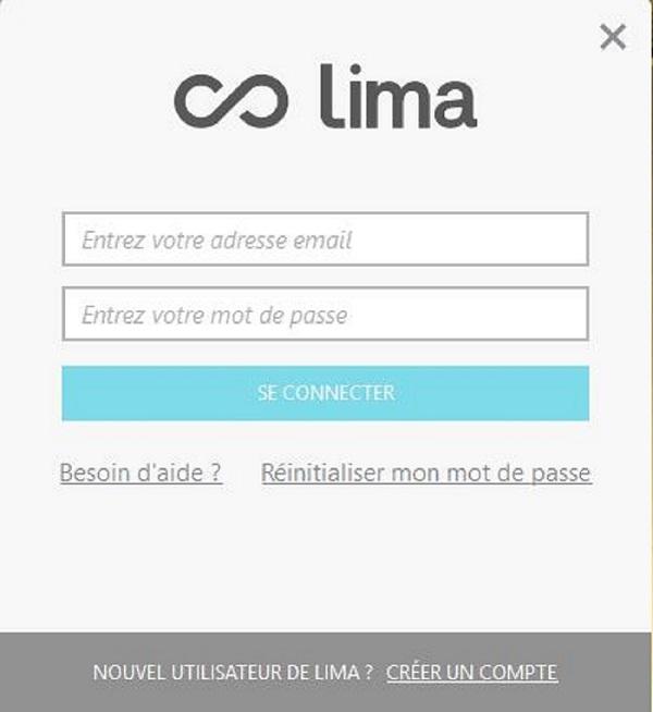 test utilisation connexion utilisateur lima ultra cloud
