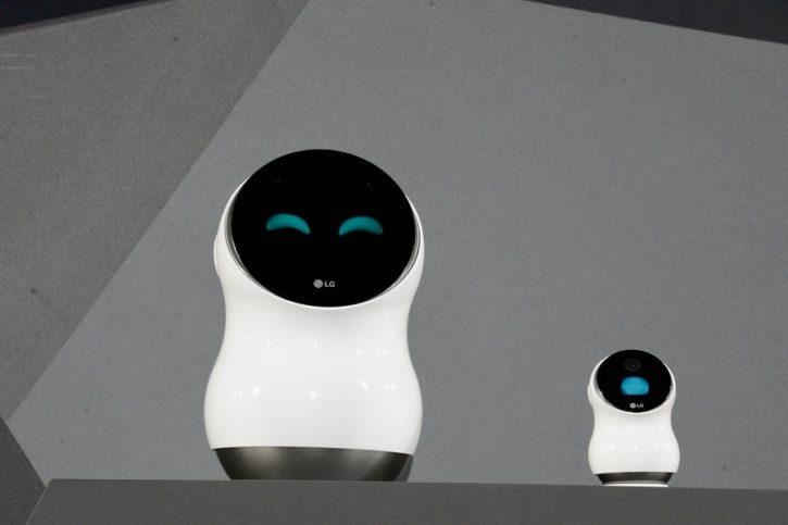 ces 2017 lg hub robot présentation