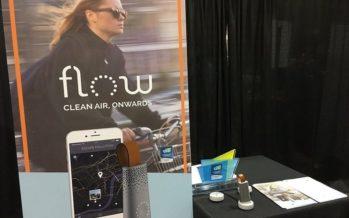 CES 2017 : Flow, le capteur qui contrôle le niveau de pollution