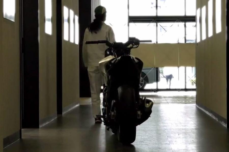 Honda moto semi autonome salon CES 2017