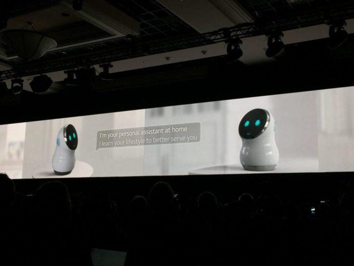 ces 2017 lg hub robot conférence