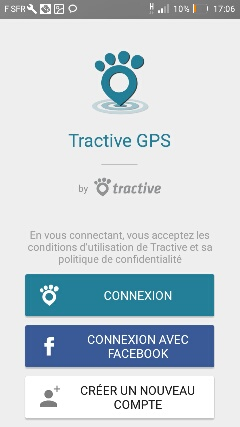 installation application tractive gps 2