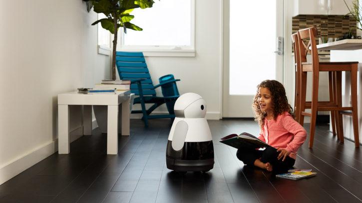 kuri robot ces 2017 intelligence artificielle