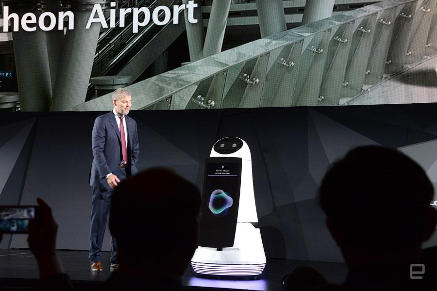 ces 2017 lg hub robot