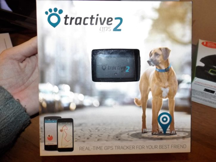 unboxing tractive gps 2 test