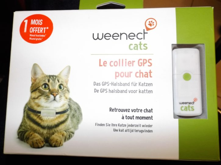 weenect cats test unboxing avant