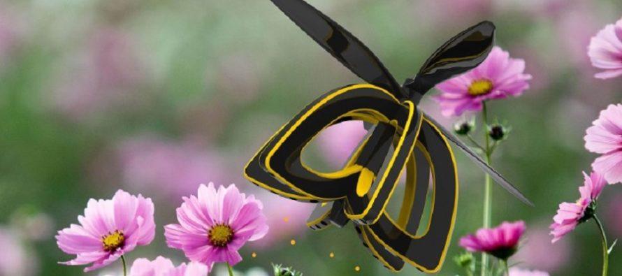Un drone abeille pour polliniser les fleurs