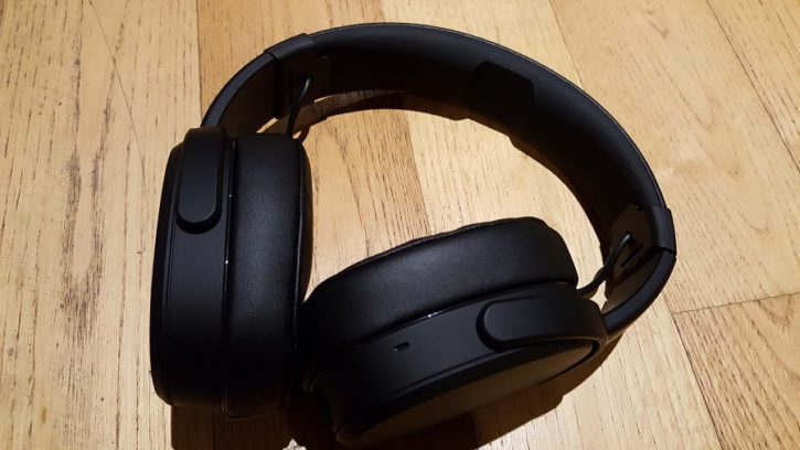 test skullcandy crusher wireless design ergonomie vue d'ensemble