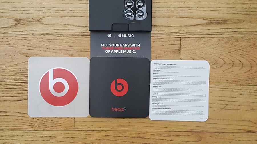 Test BeatsX musique offerte