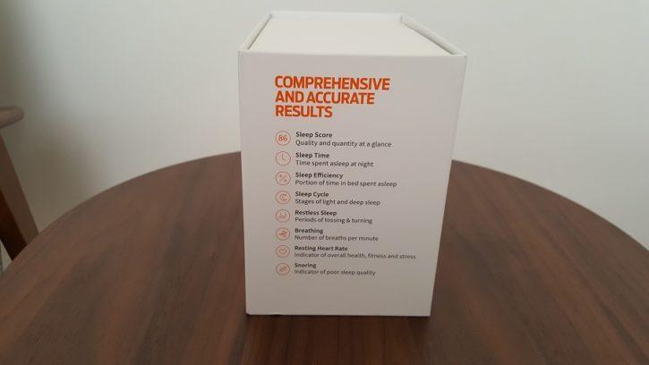 test bedit sleep tracker unboxing packaging vue côté