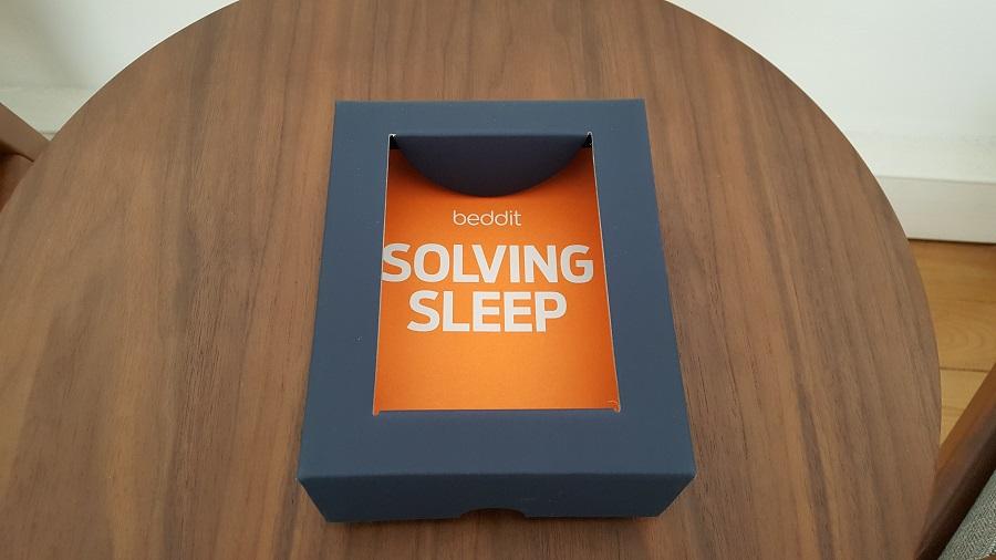 test beddit 3 sleep tracker unboxing packaging fond