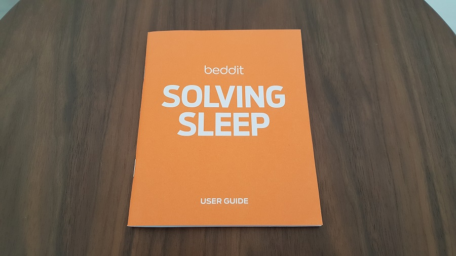 test beddit 3 sleep tracker unboxing manuel