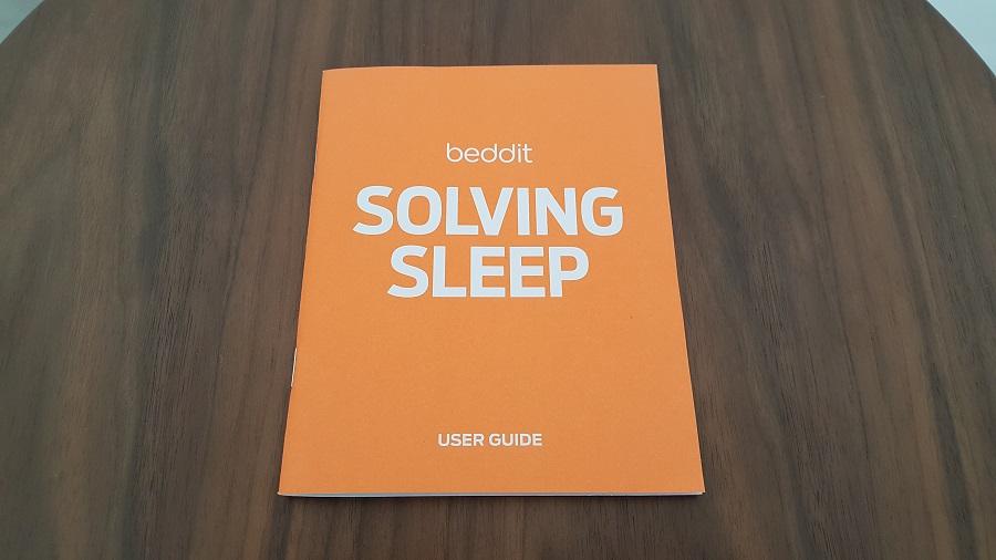 test beddit 3 sleep tracker unboxing manuel
