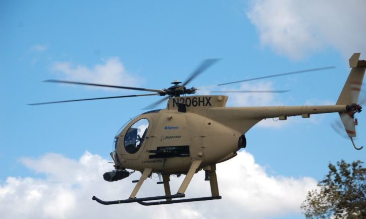 News vidéo TALOS aurora flight services décollage