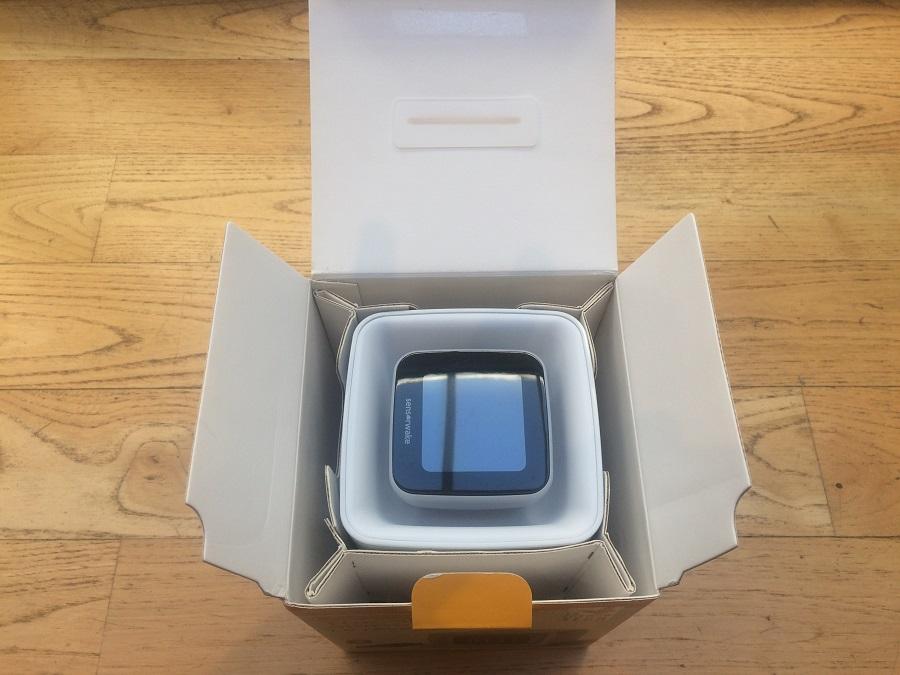 test réveil olfactif sensorwake unboxing ouverture packaging