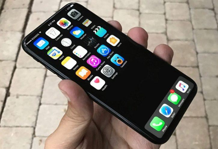 Apple lphone 8 Interface menu