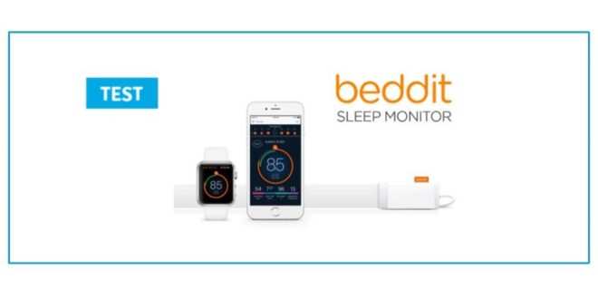 test beddit sleeptracker sleep monitor tracker sommeil