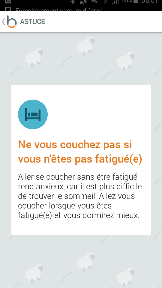 Test beddit 3 sleep tracker application conseil