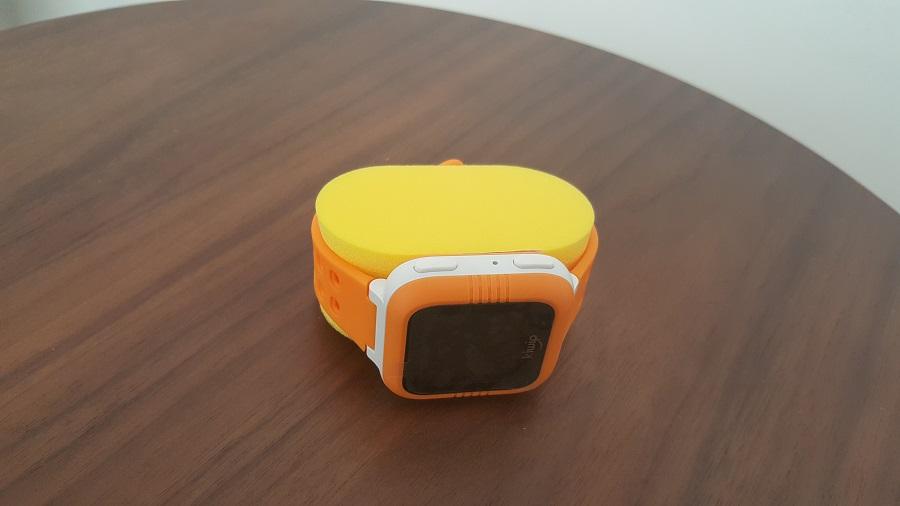 Test Unboxing Support Mousse Montre connectée Kiwip Watch