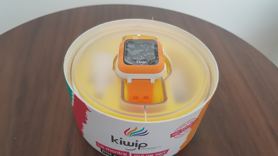 Test Unboxing Kiwip Watch boîte sans couvercle montre Bluetooth sans fil