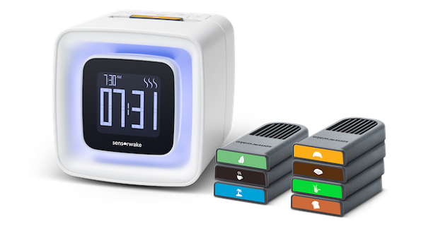 test sensorwake réveil olfactif officiel capsules